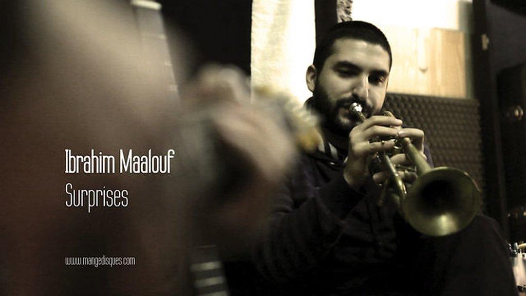 """Ibrahim Maalouf """"Surprises"""" en acoustique sur Mange Disques"""